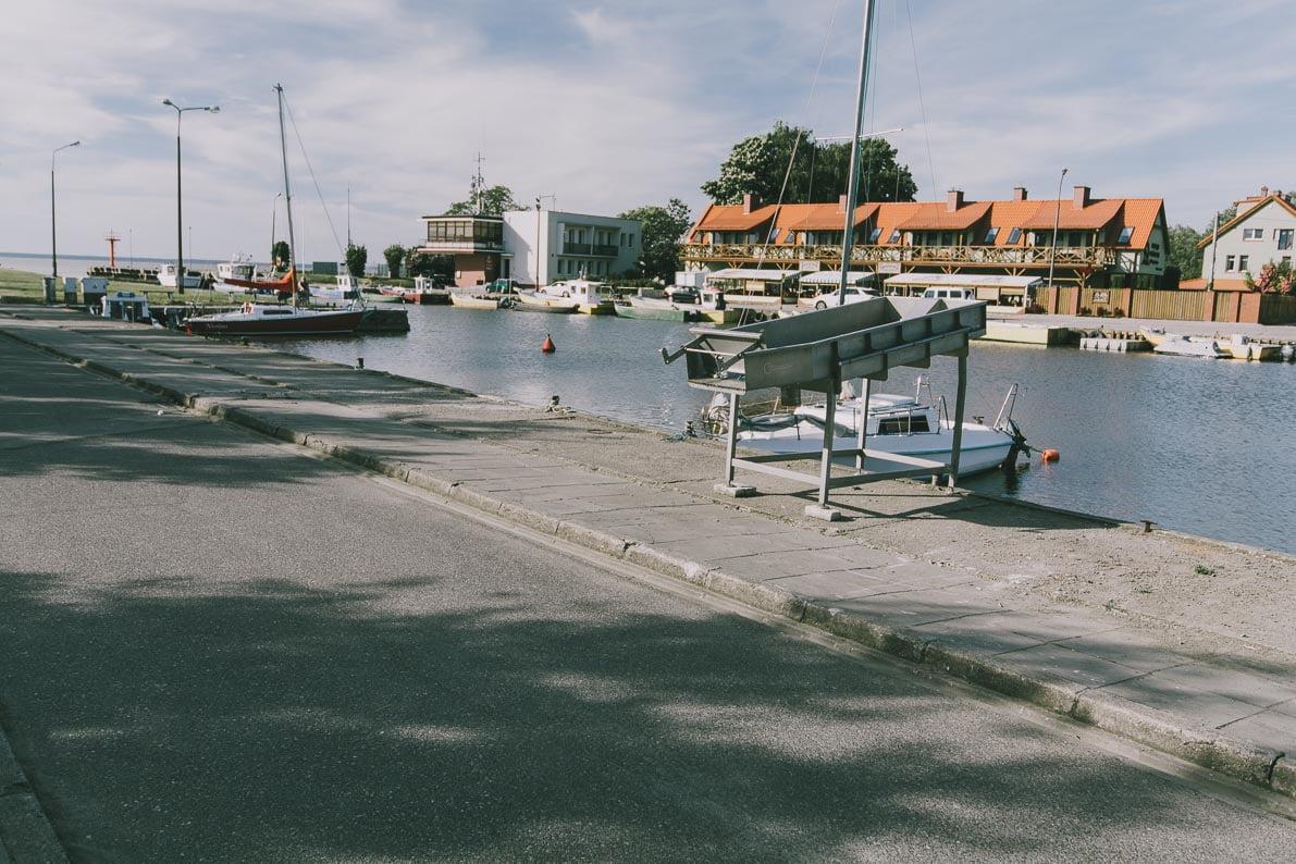 Atrakcje-Fromborka marina