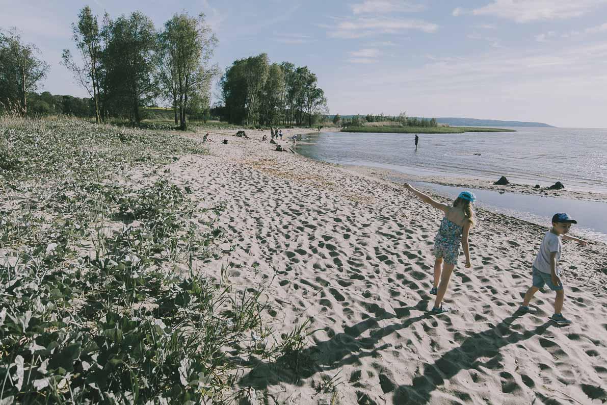 Atrakcje-Fromborka plaża