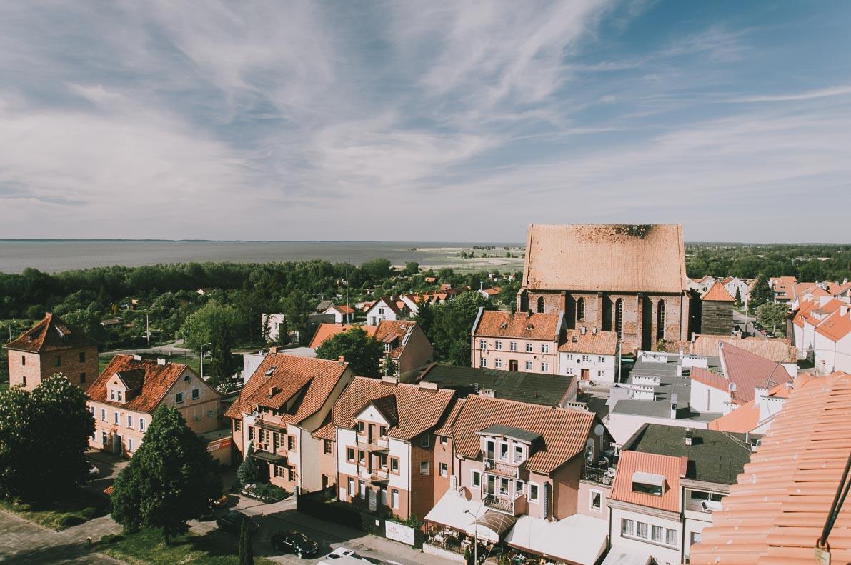 Atrakcje-Fromborka panorama fromborka