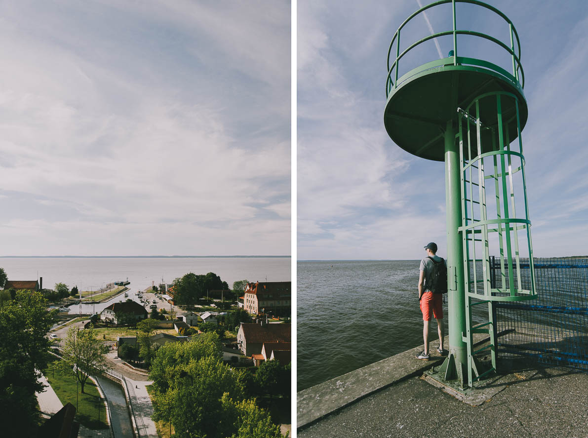 Atrakcje-Fromborka port