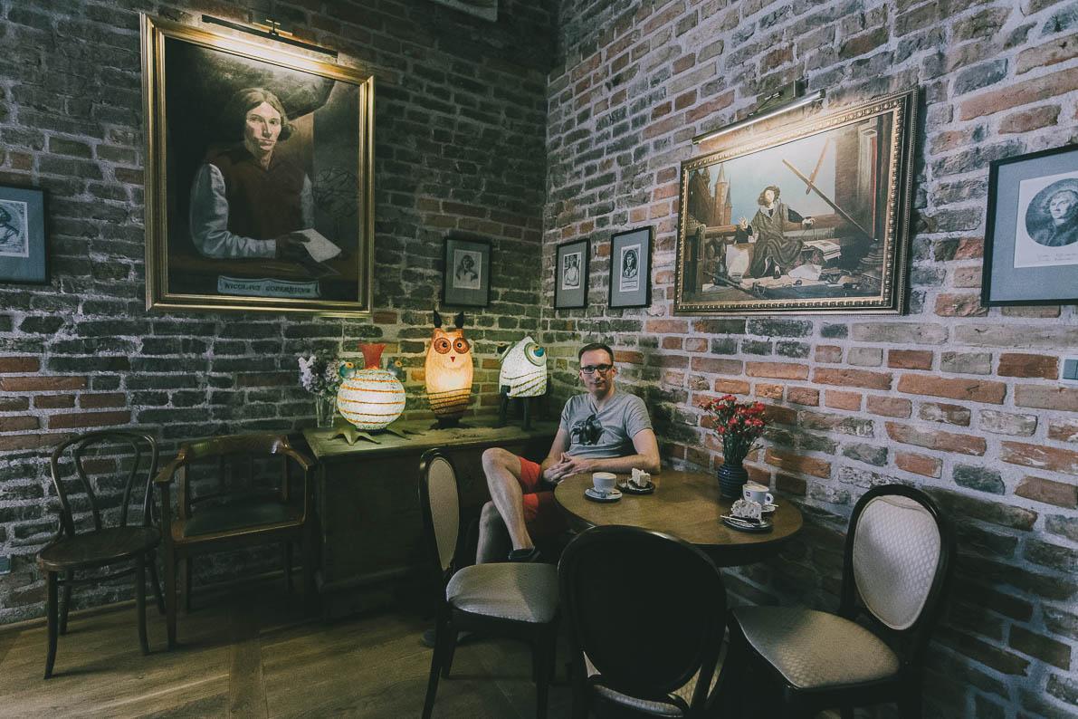 Atrakcje-Fromborka kawiarnia wieża wodna