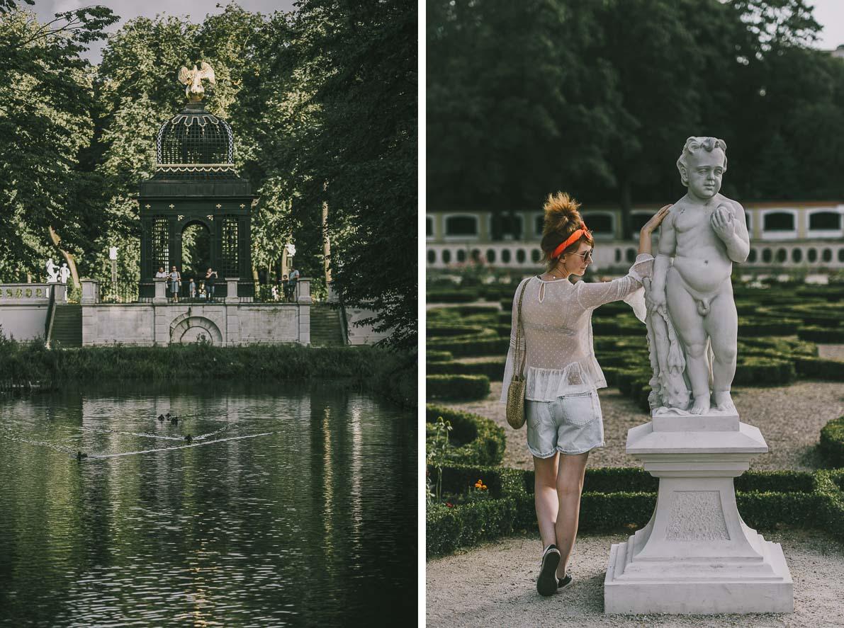 Bialystok-stolica-Podlasia-ogród wPałacu Branickich