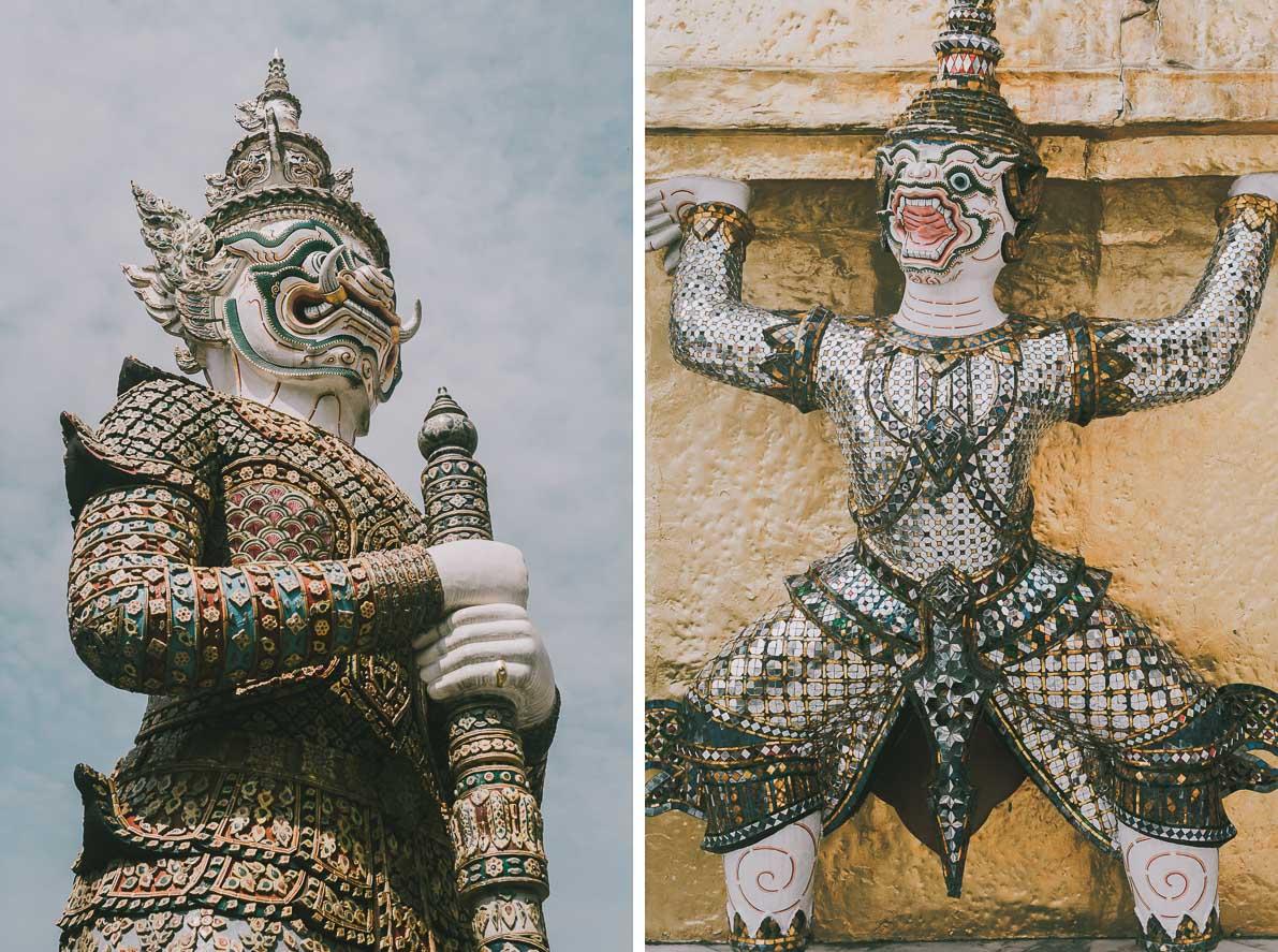 Buddyjskie-swiatynie-atrakcje-Bangkoku Zwiedzanie świątyni Wat Phra Kaew