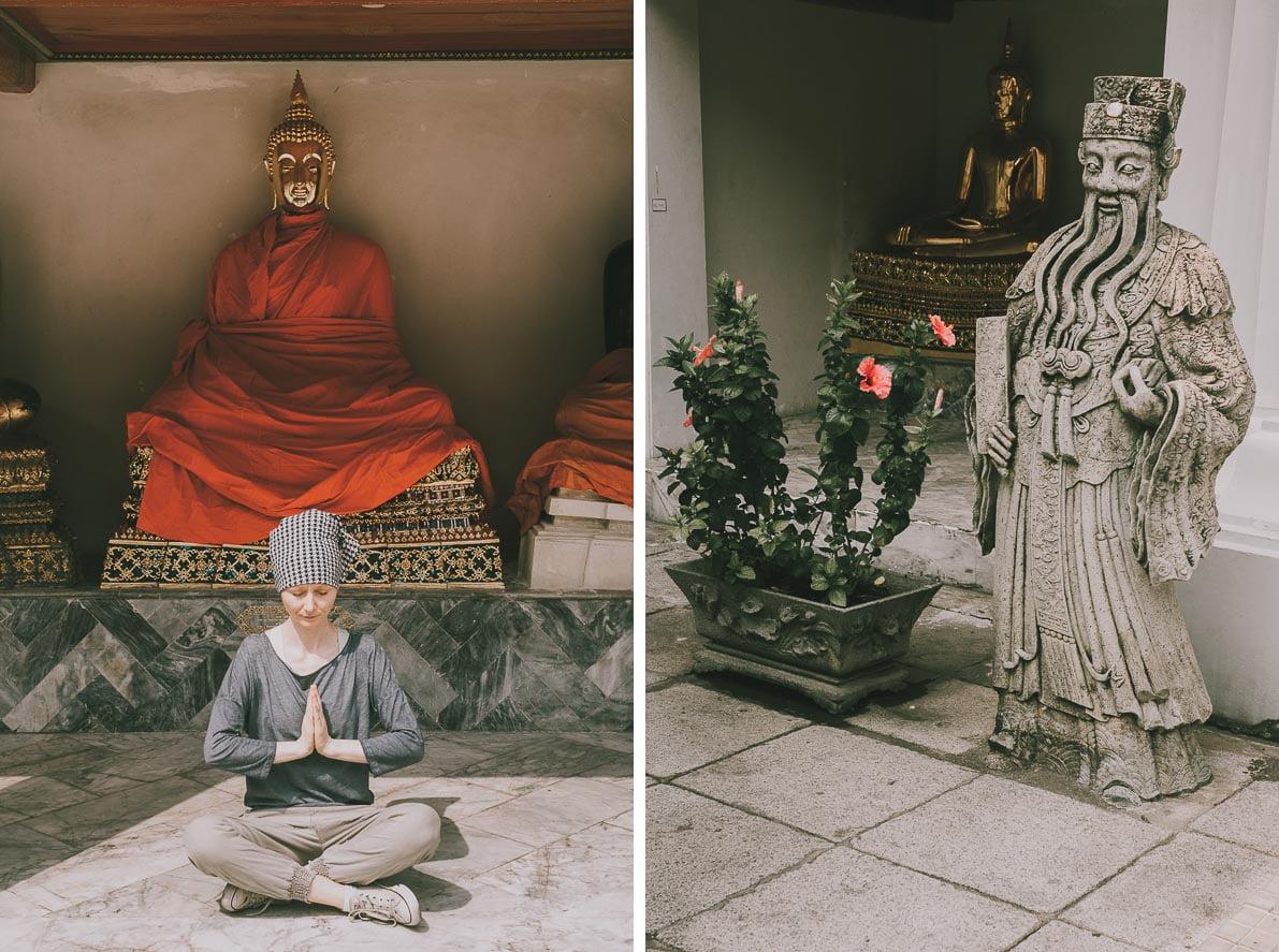 Buddyjskie-swiatynie-atrakcje-Bangkoku Świątynia Leżącego Buddy Wat Po