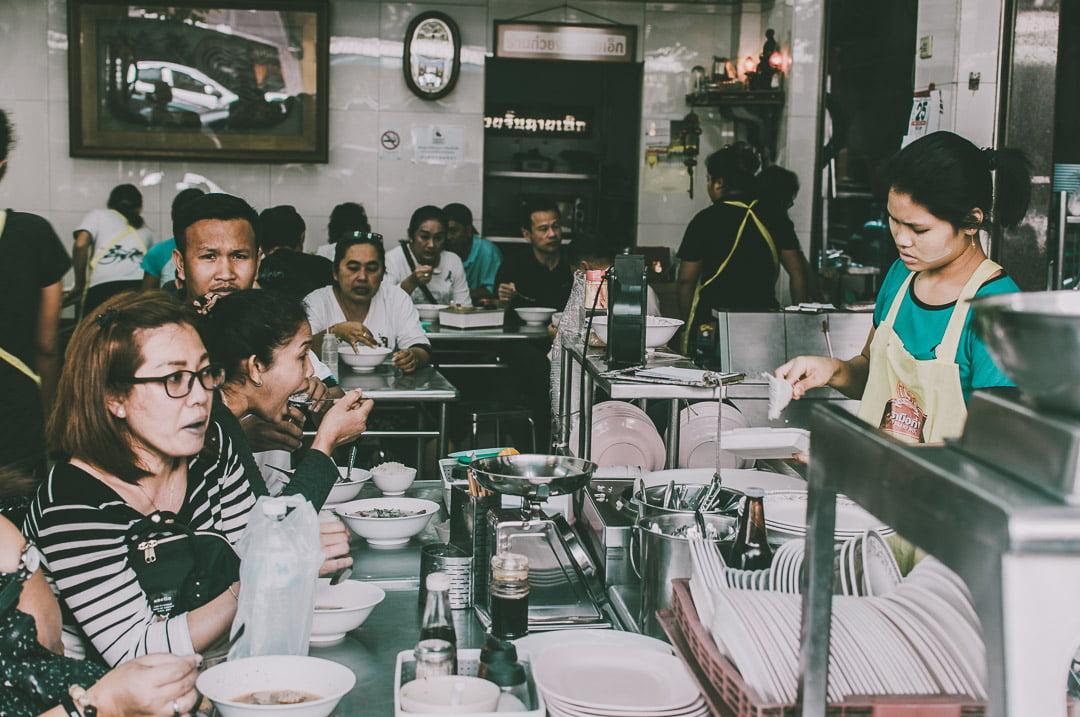 Chinatown-w-Bangkoku chiński bar