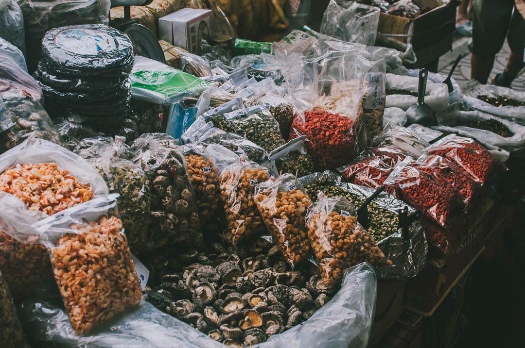 Chinatown-w-Bangkoku przyprawy