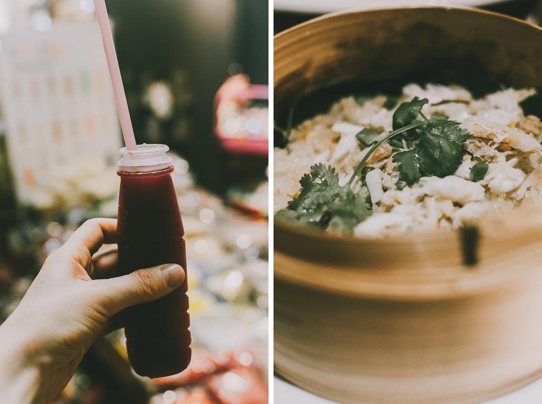 Chinatown-w-Bangkoku wyciskanie soków zgranatów