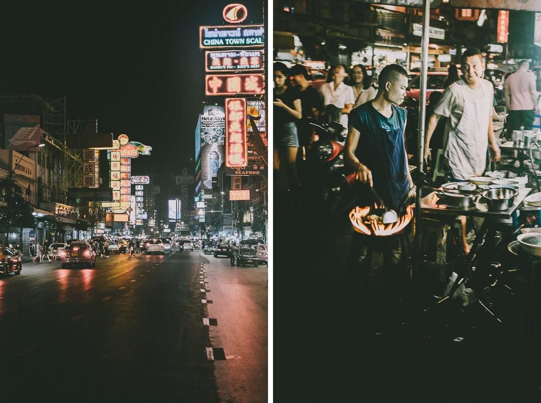 Chinatown-w-Bangkoku nocą