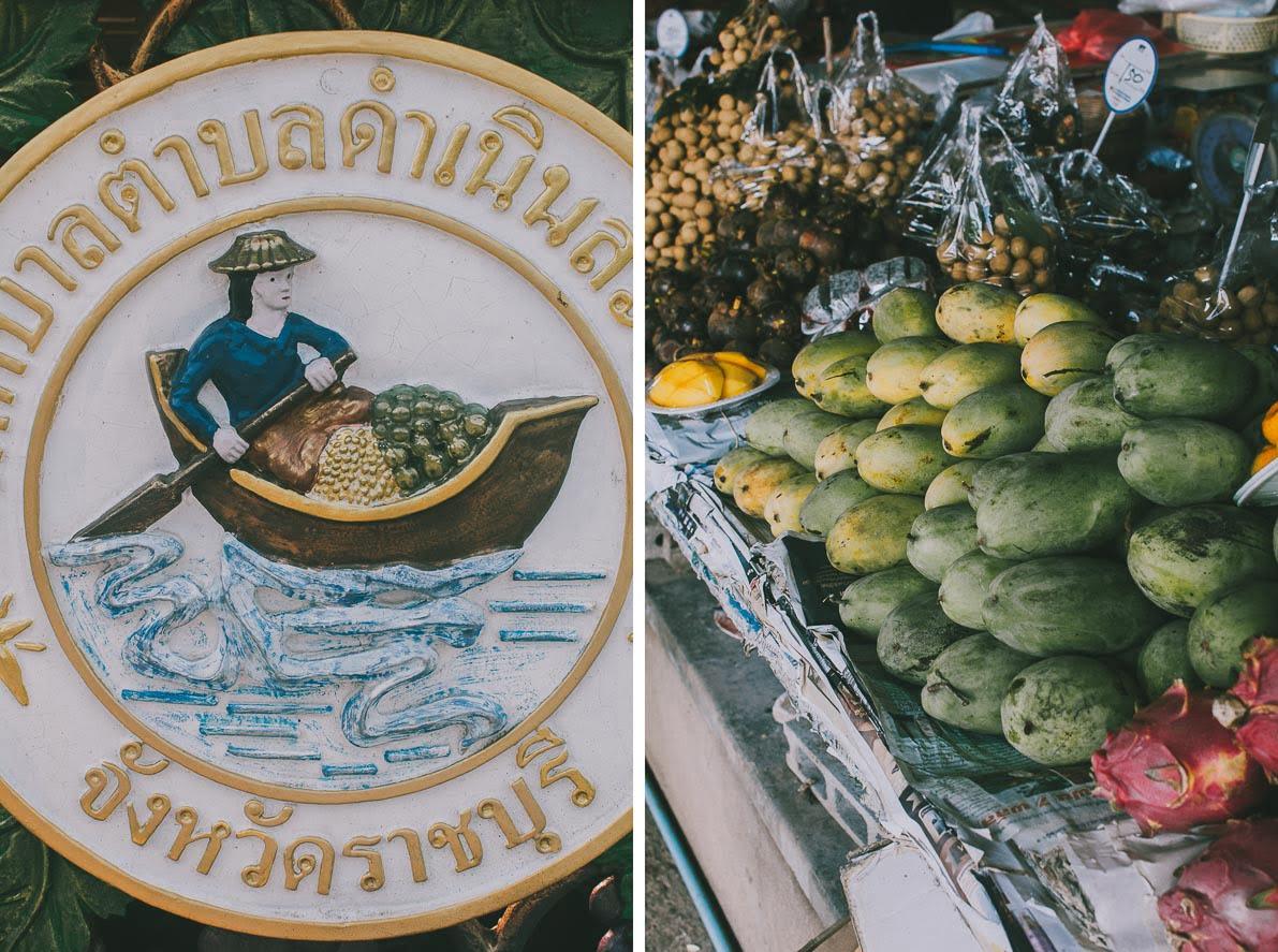 Floating-market-Damnoen-Saduak owoce