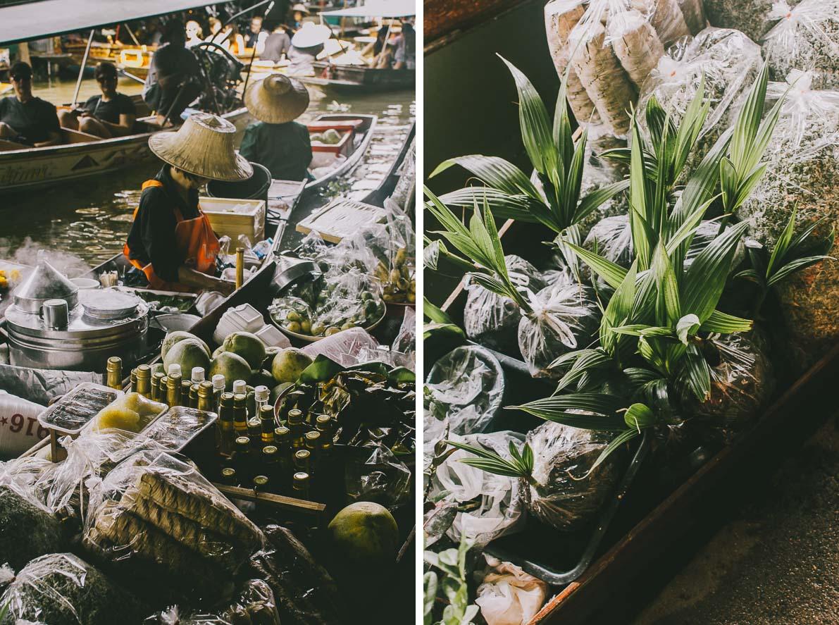 Floating-market-Damnoen-Saduak towary