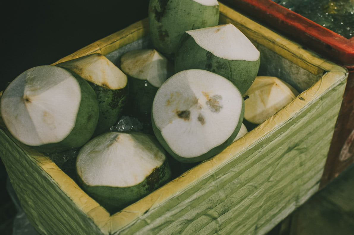 Floating-market-Damnoen-Saduak-Amphawa kokosy