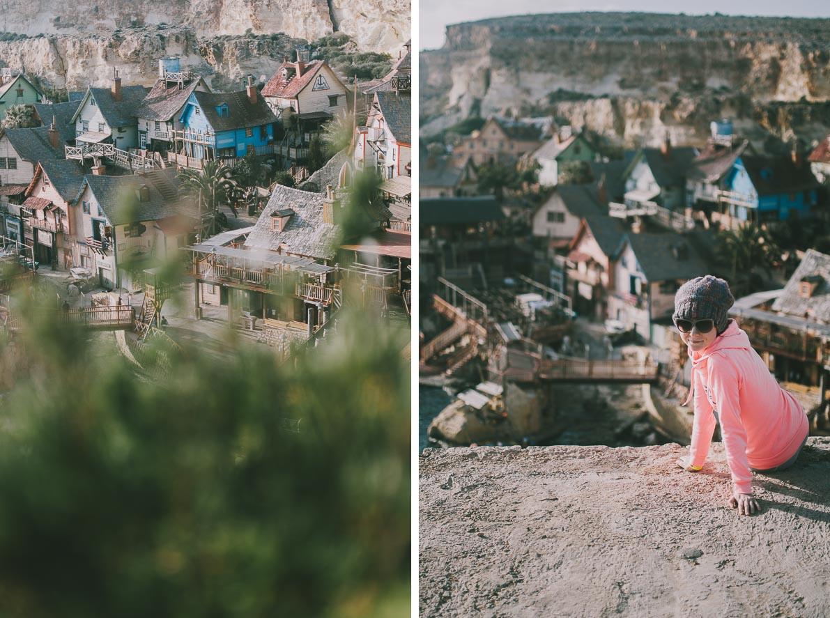 Malta-10-miejsc Popeye Village