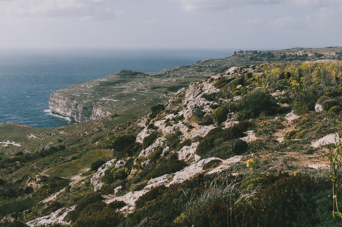 Malta-10-miejsc KLIFY DINGLI