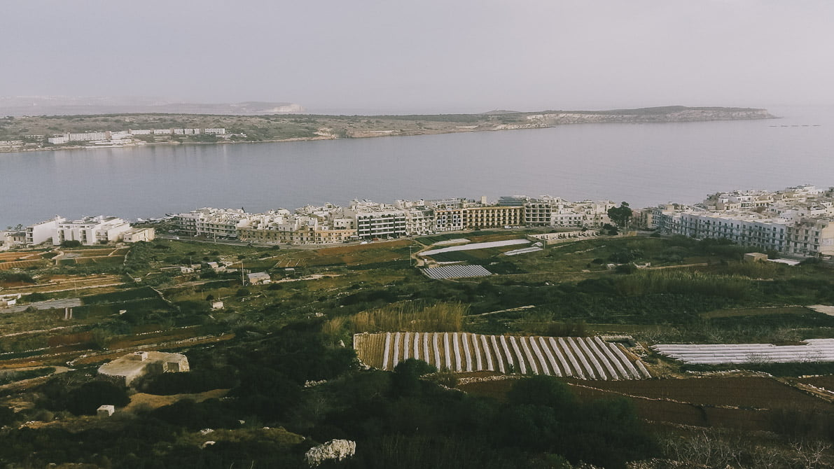 Malta-plan-podrozy Mellieha