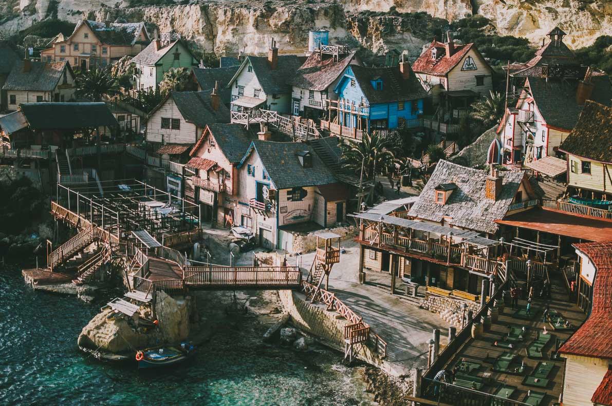 Malta-plan-podrozy Popeye Village