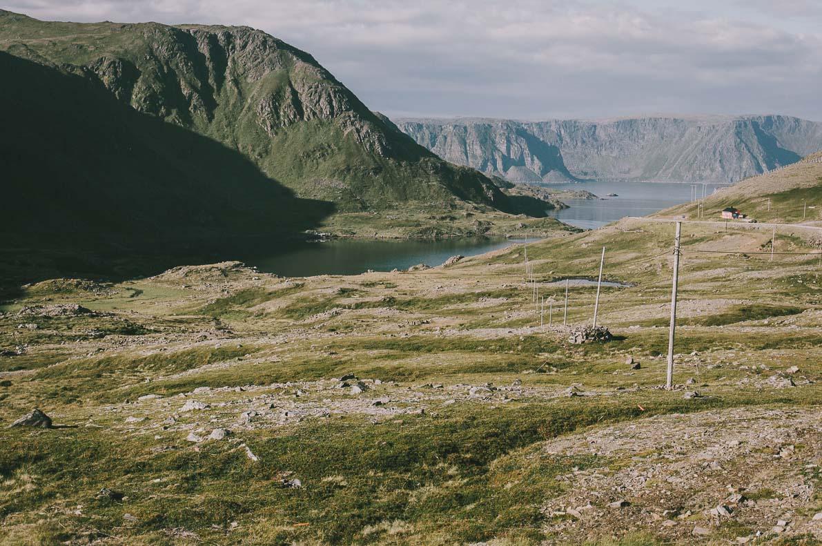 Nordkapp-samochodem