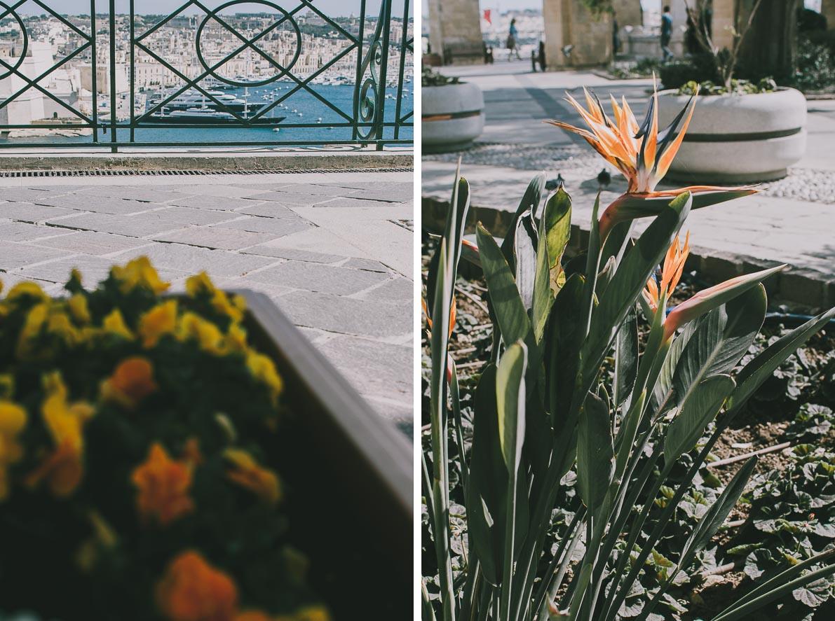 Valletta-stolica-Malty Upper Barracca Gardens