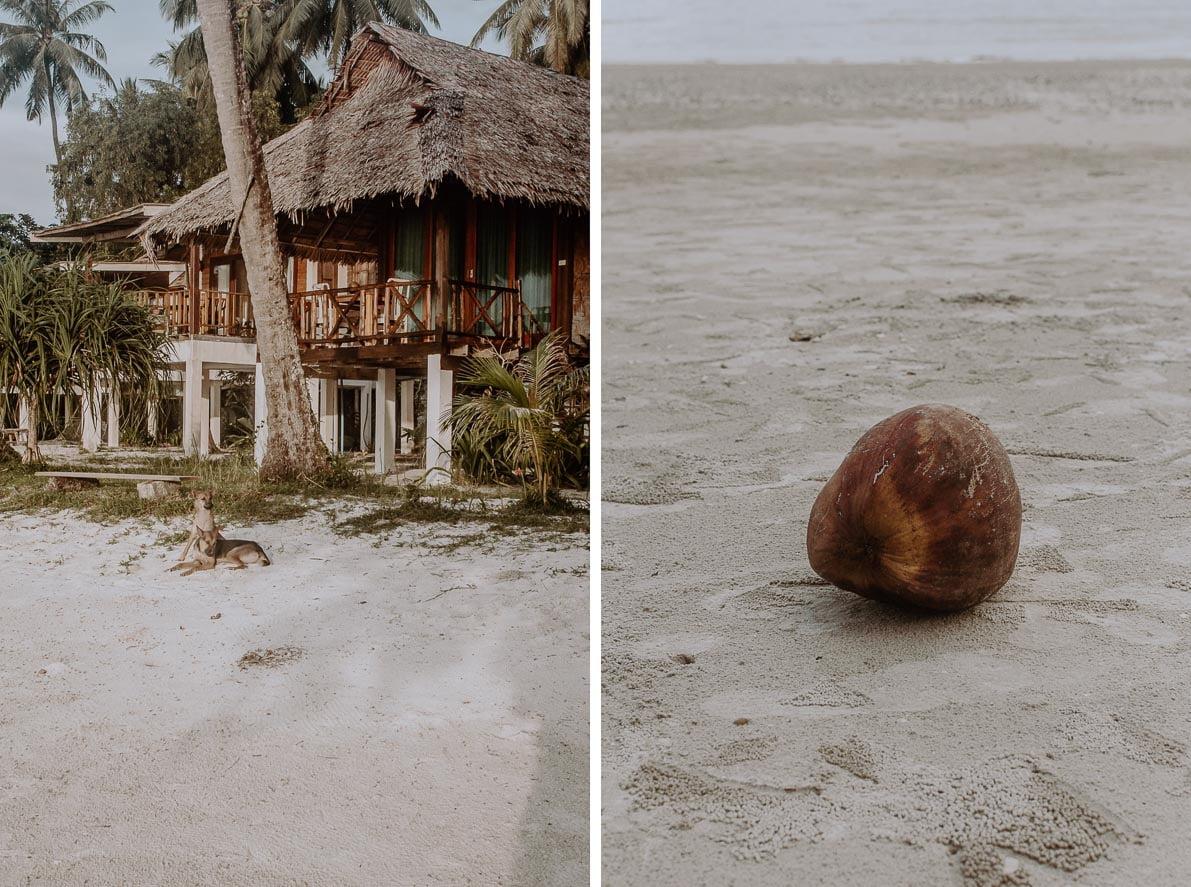 Wyspy-plaze-Tajlandii Koh Mook domki naplaży