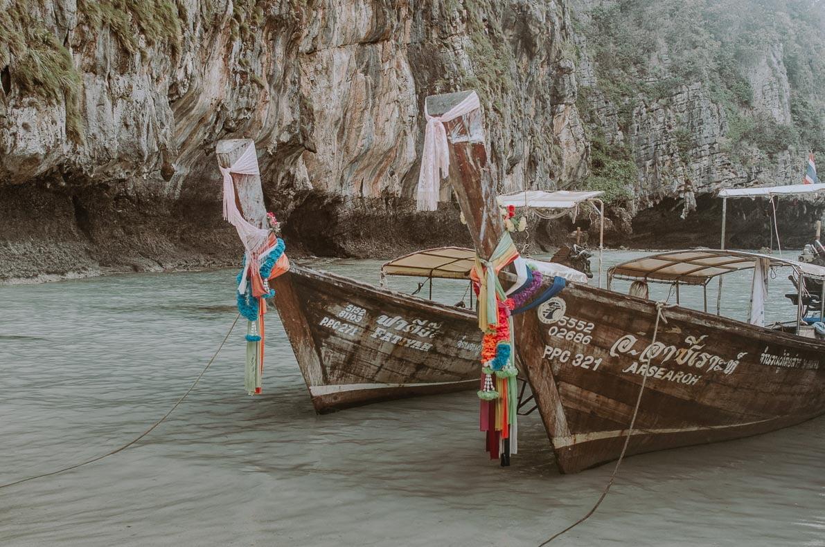 Wyspy-plaze-Tajlandii plaża MAYA BAY