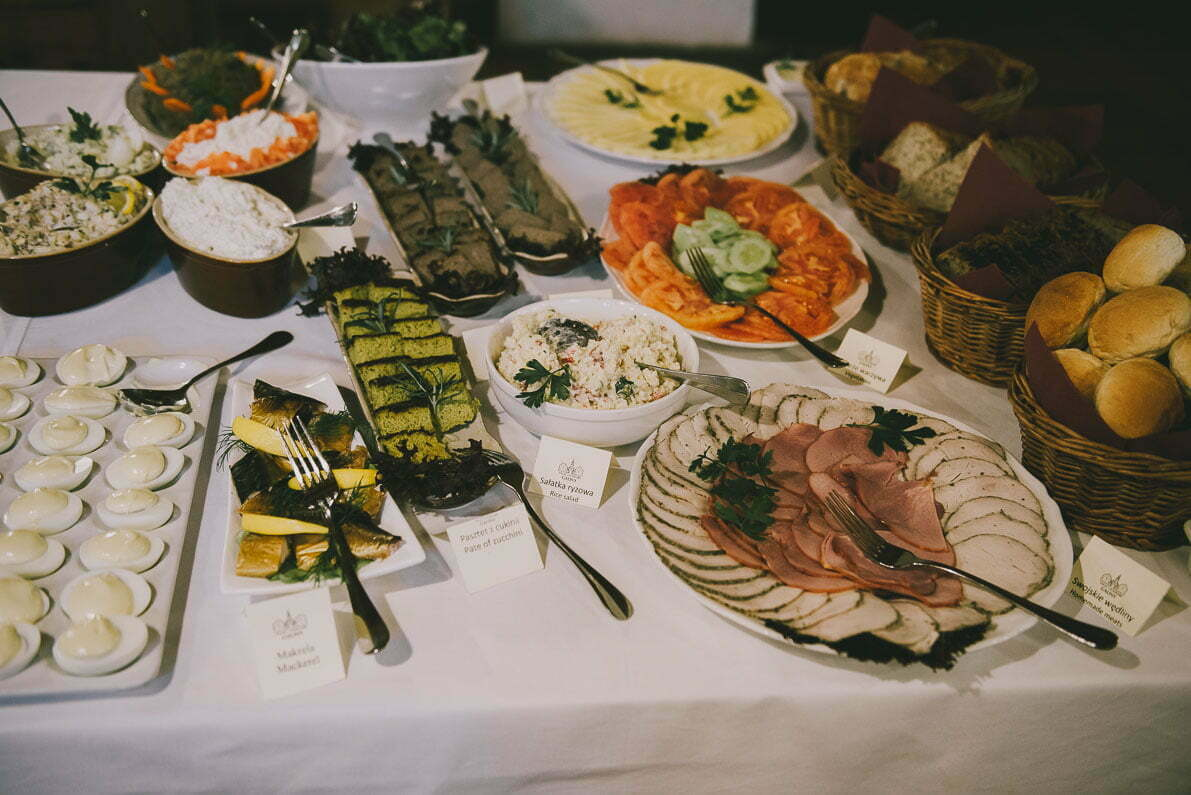 Palac-i-Folwark-Galiny śniadanie bufet