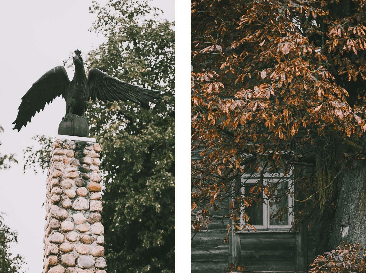 Tykocin-na-podlasiu pomnik Orła Białego