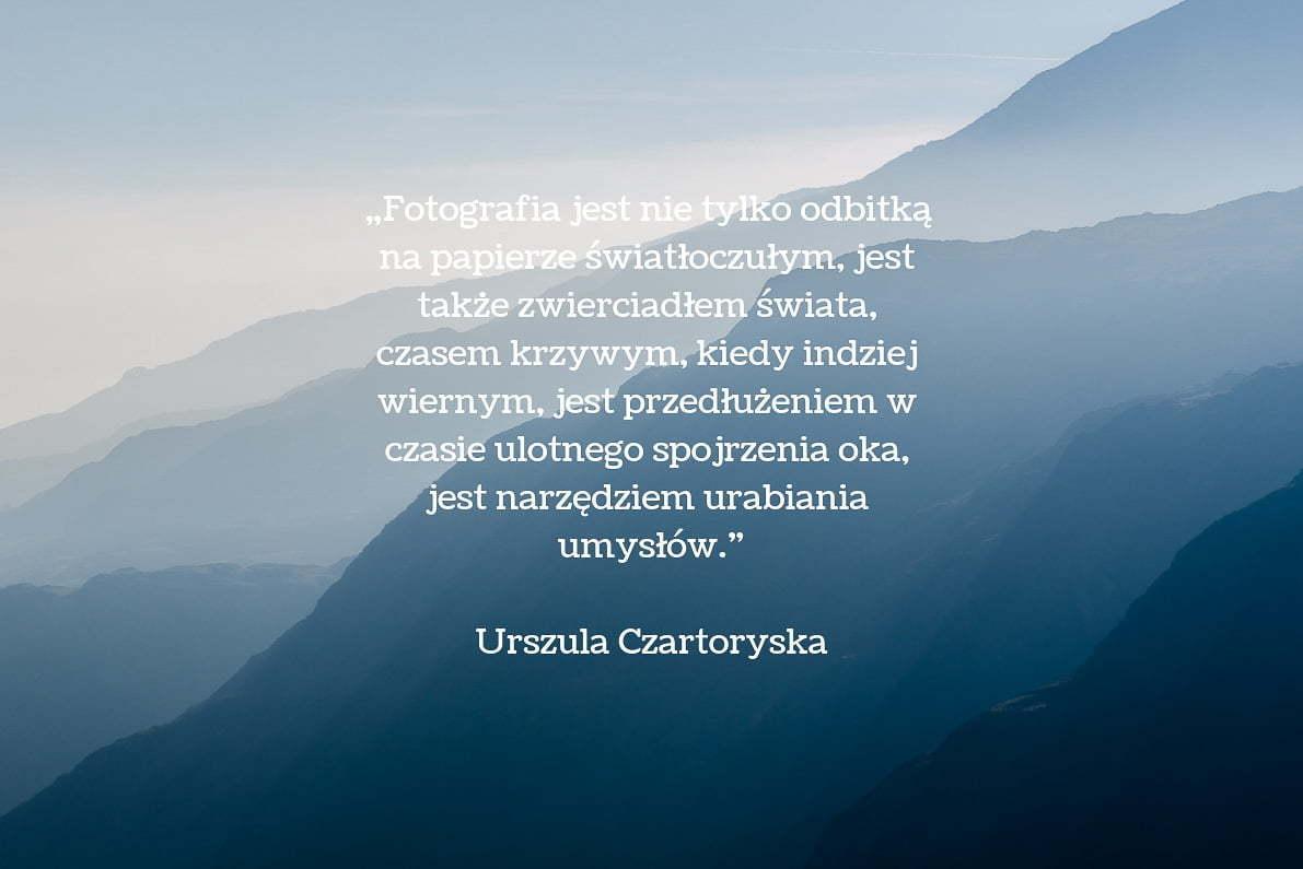 30 cytatów fotograficznych Urszula Czartoryska