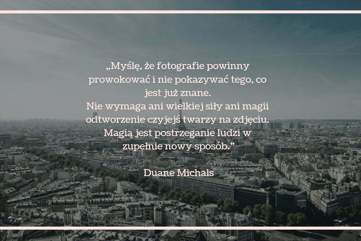 30 cytatów fotograficznych Deane Michals