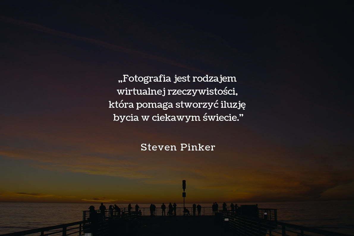 30 cytatów fotograficznych Steven Pinker