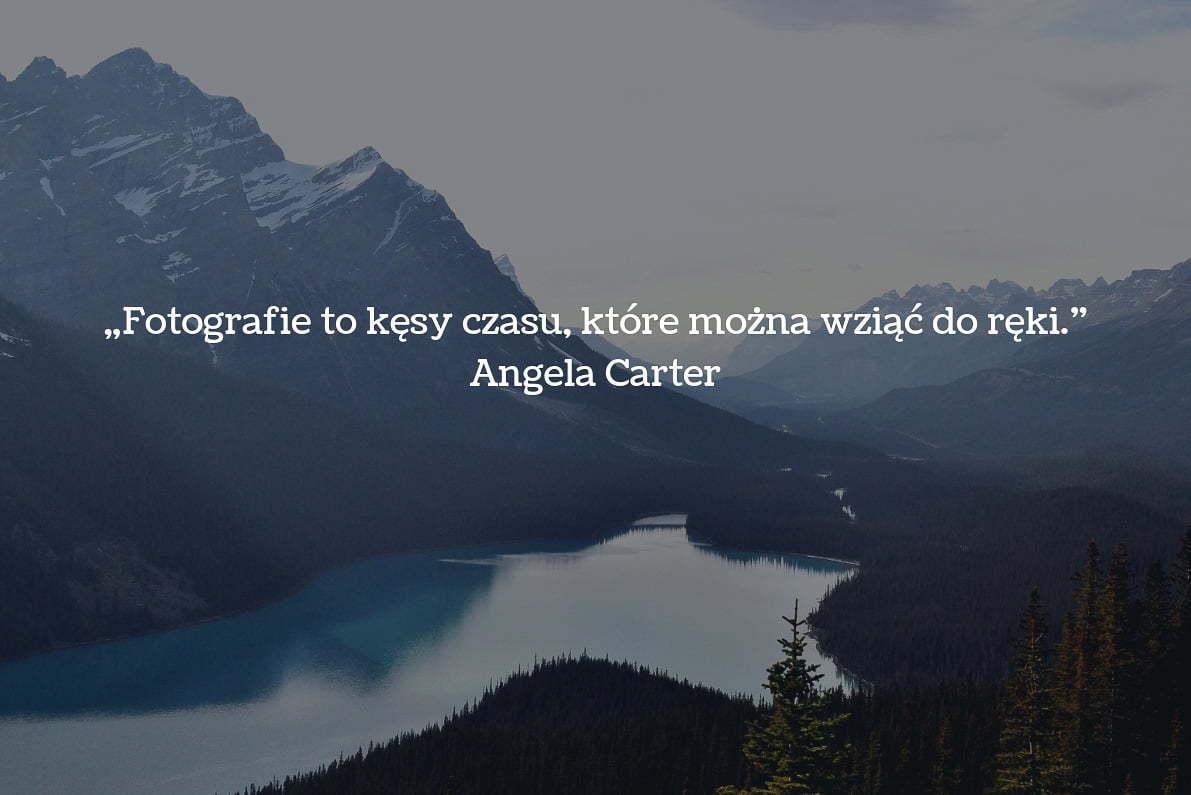 30 cytatów fotograficznych Angela Carter