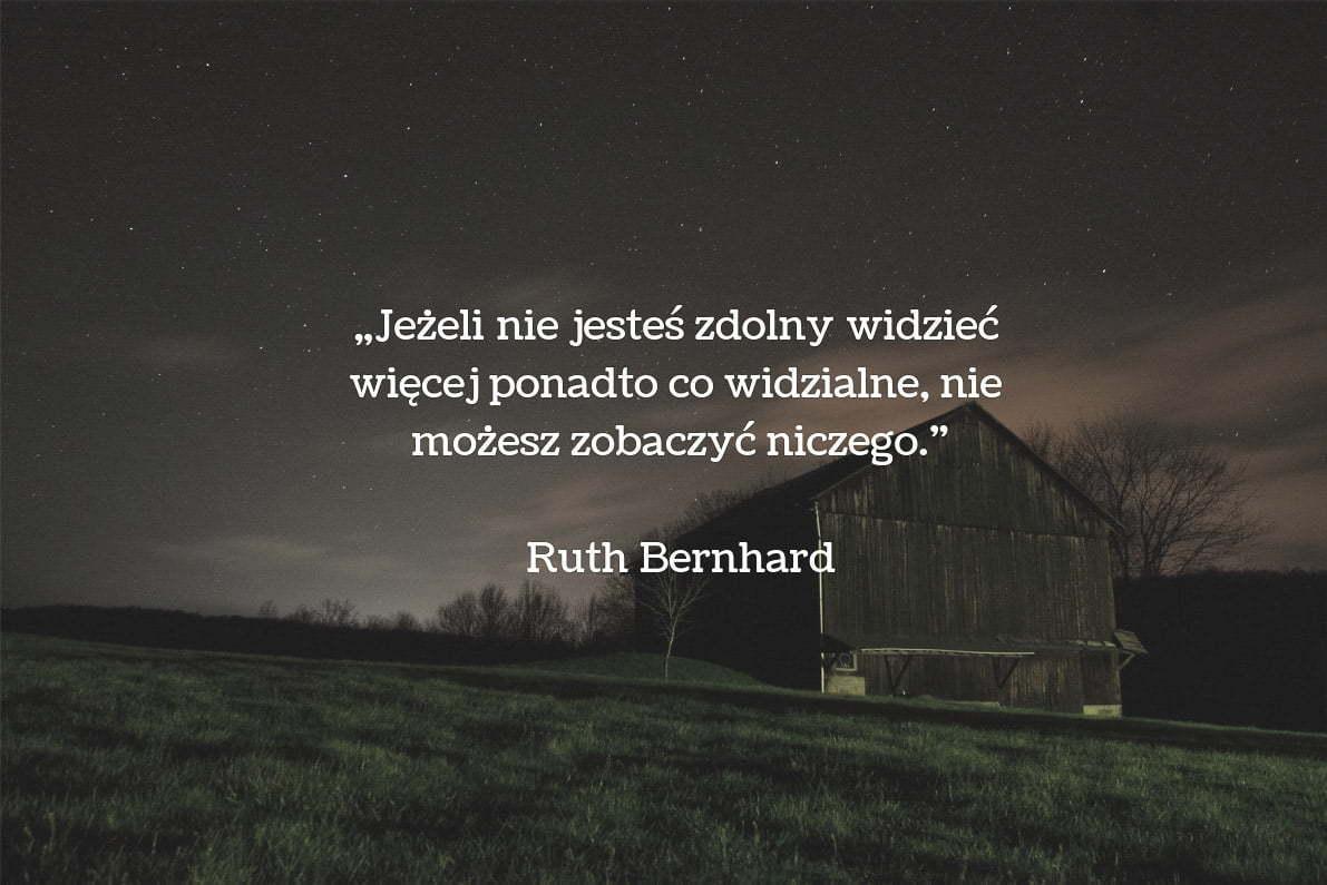 30 cytatów fotograficznych Ruth Bernhard