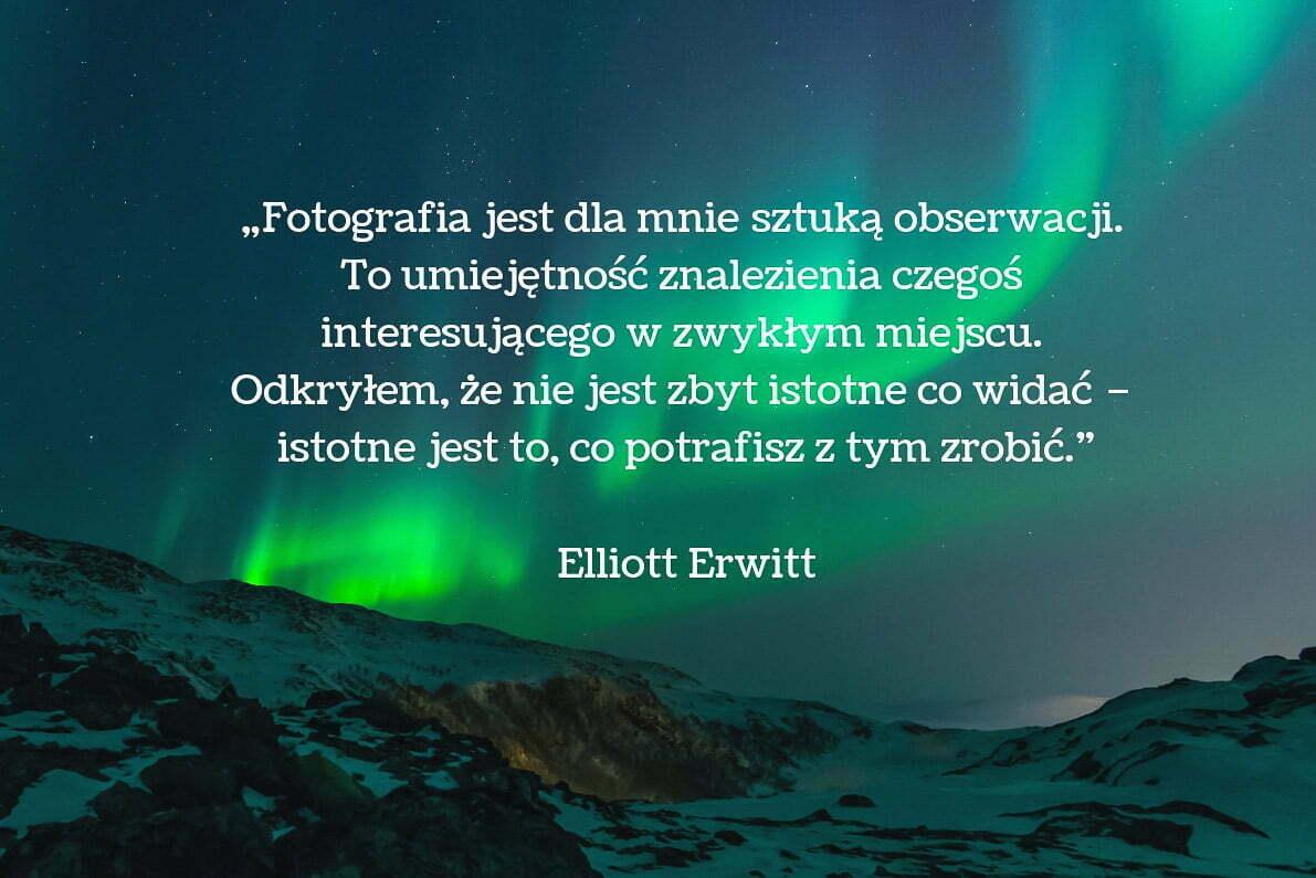 30 cytatów fotograficznych Elliott Erwitt