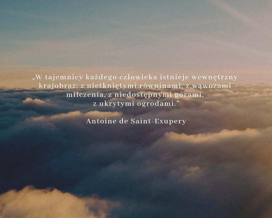 20 cytatów podróżniczych - Antoine de Saint-Exupery