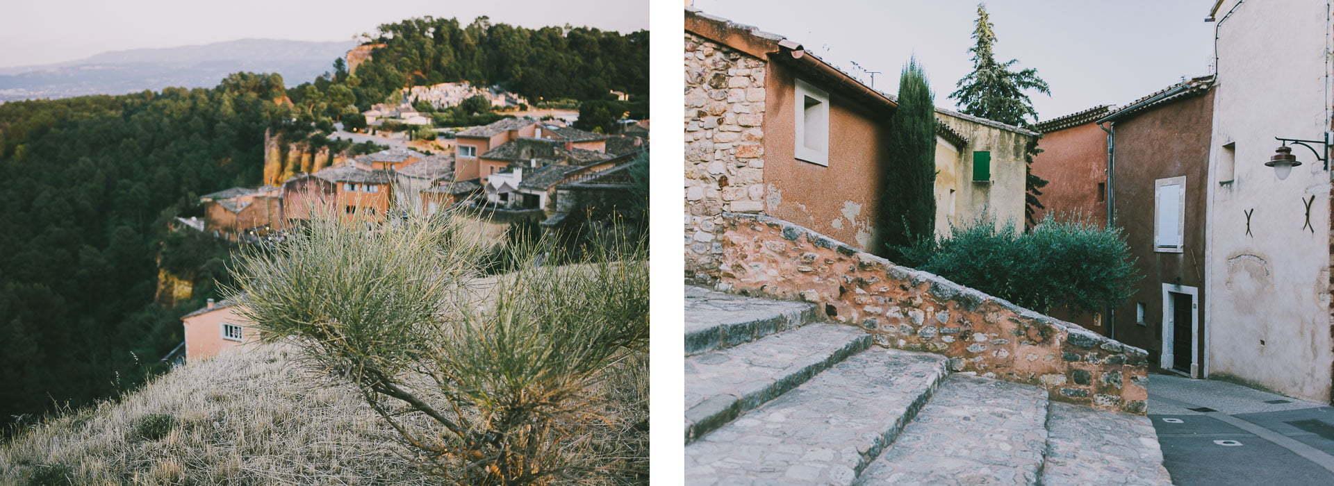 Najpiękniejsze miasteczka Prowansji Roussillon