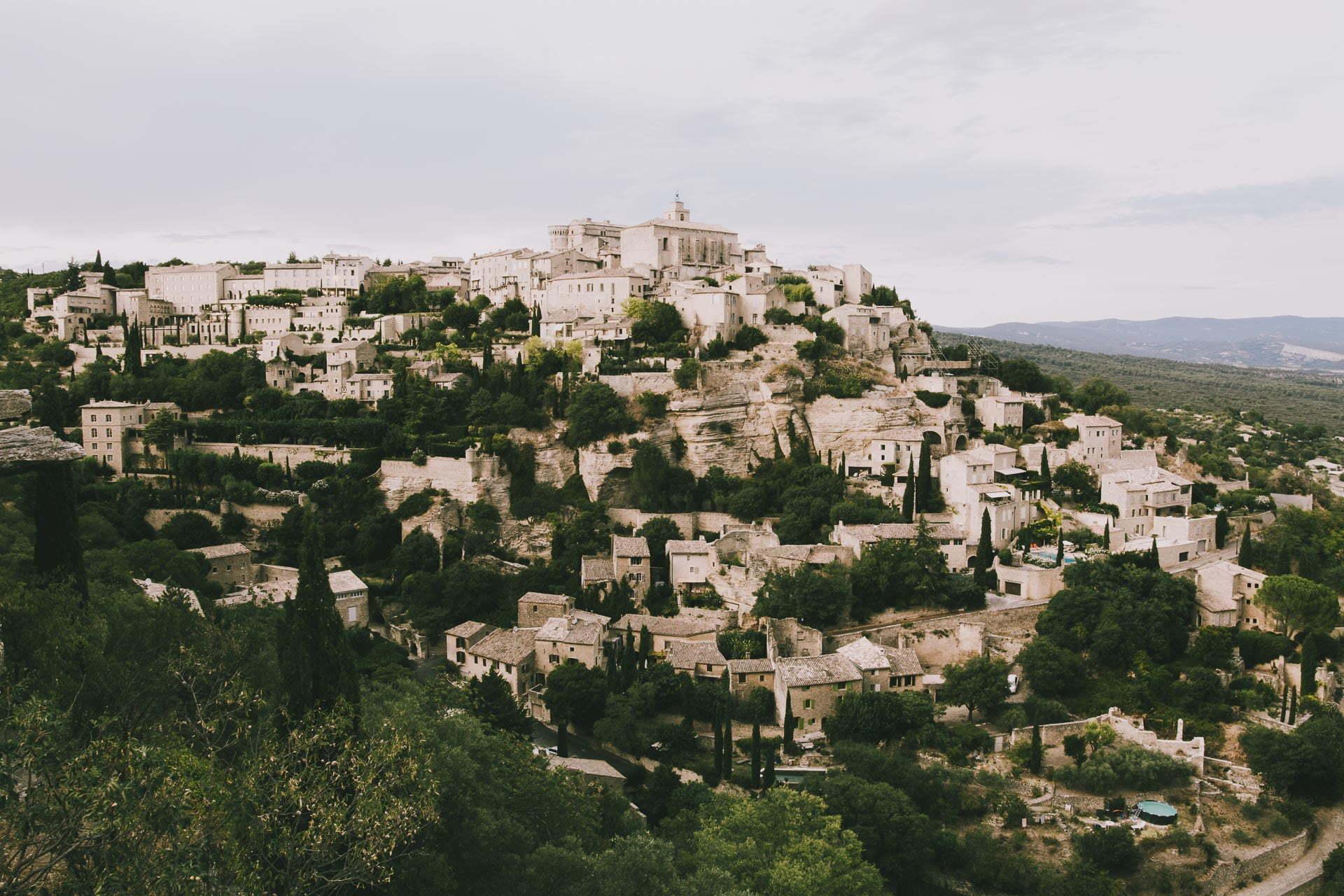Najpiękniejsze miasteczka prowansji Gordes