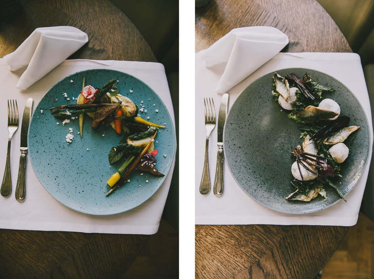 Restauracja Majolika wGdańsku - smażony śledź zmłodymi ziemniakami
