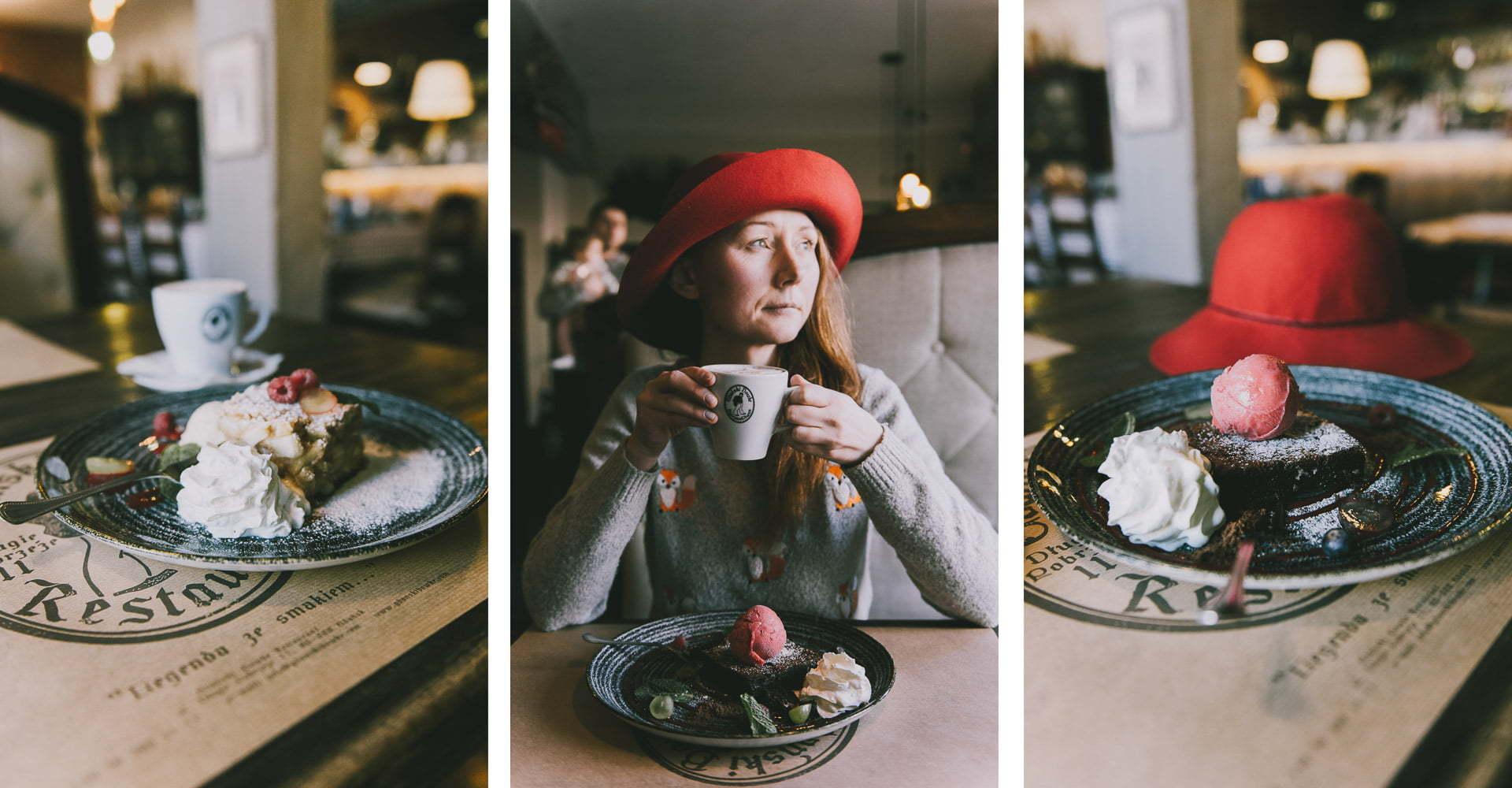 Gdański Bowke - Ciasto czekoladowe zsorbetem malinowym