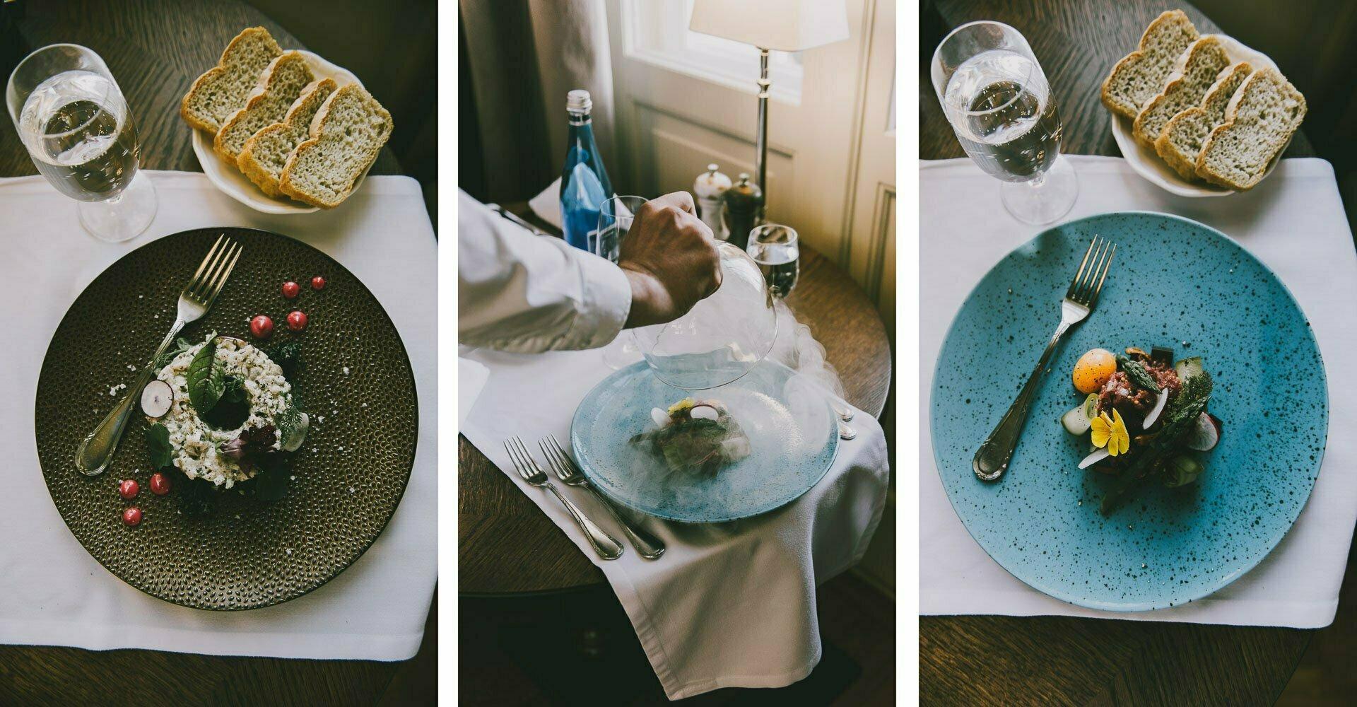 Restauracja Majolika tatar ześledzia