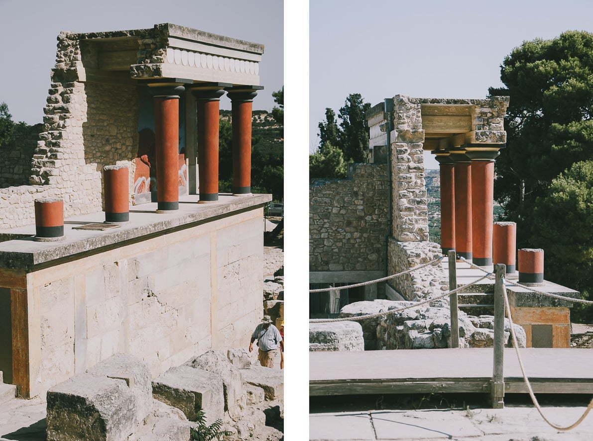 Kreta - Pałac Minojski wKnossos