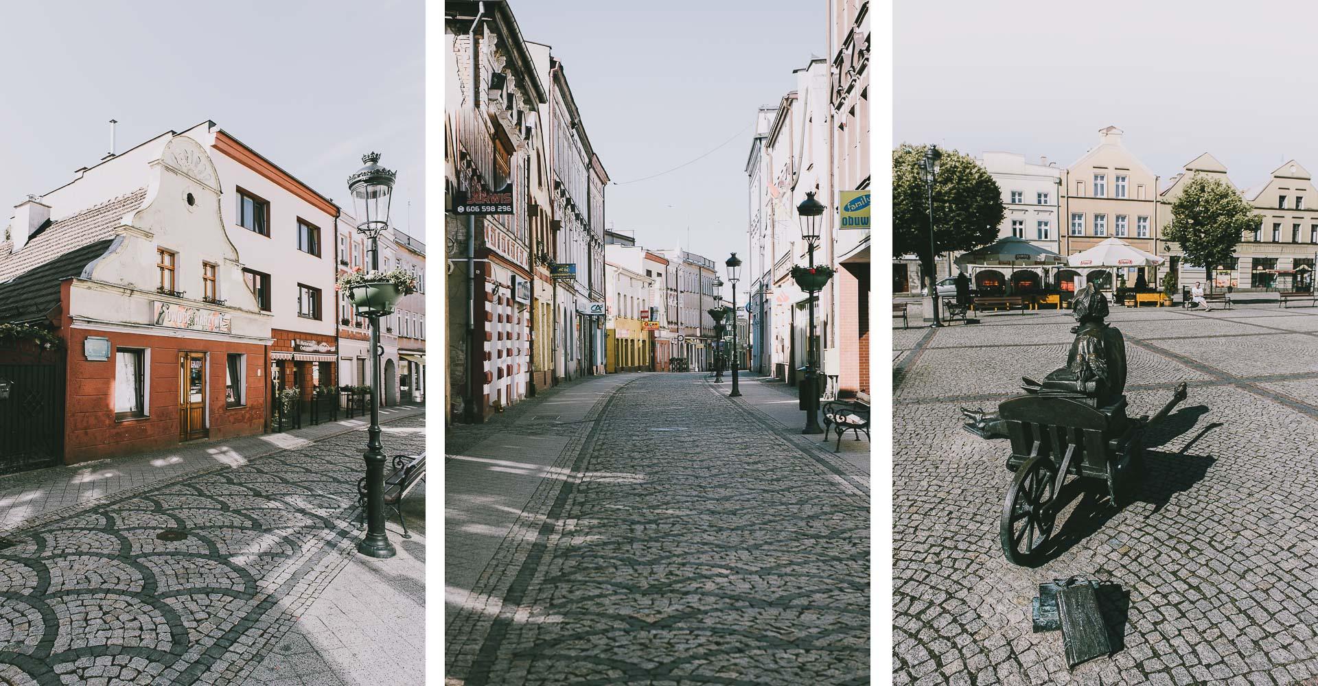 Stary Browar Kościerzyna nakaszubach - uliczki Kościerzyny