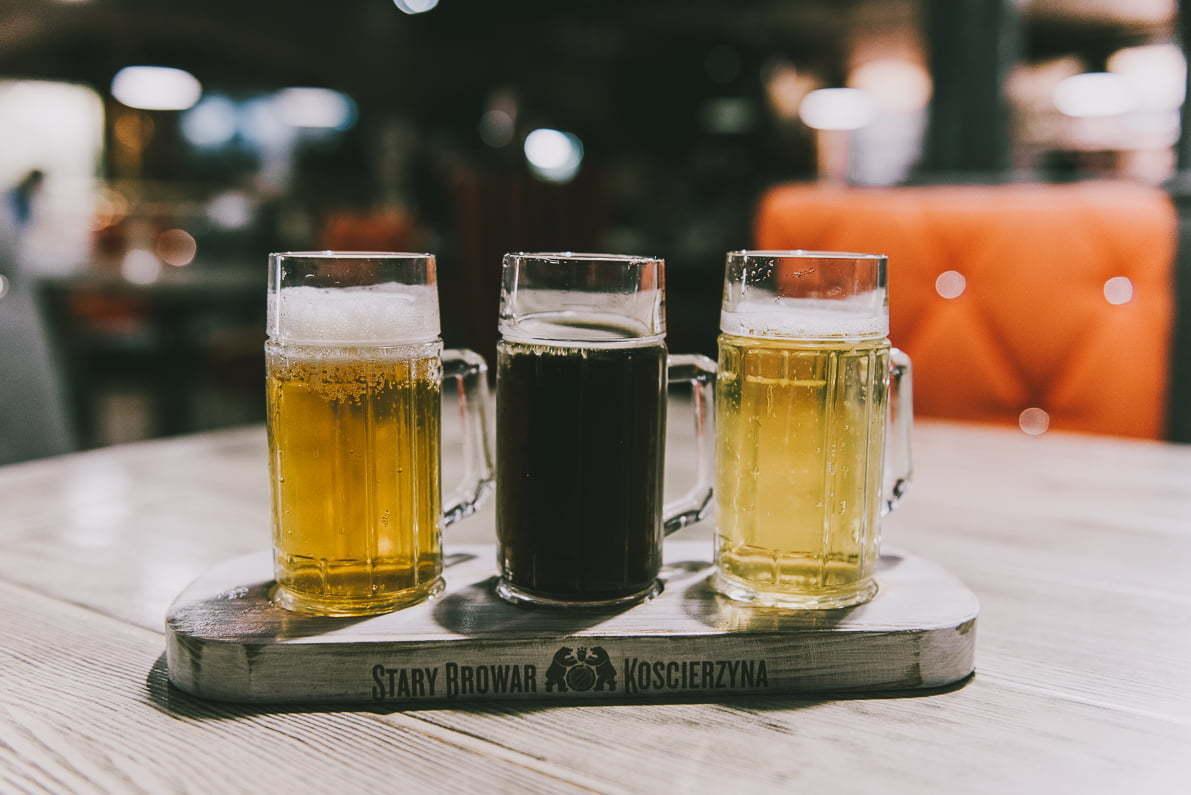 Hotel Stary Browar Kościerzyna - degustacja piwa