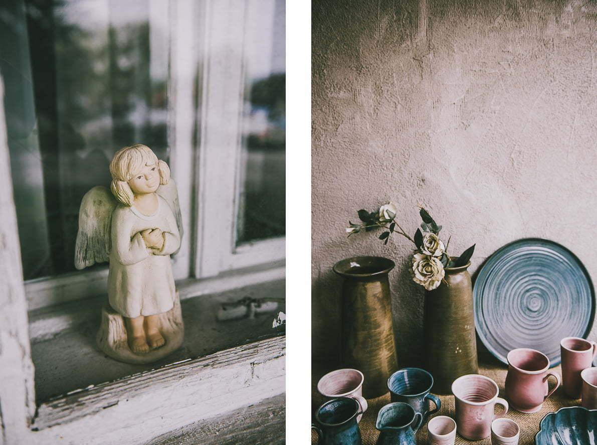 Anioły iceramika Lanckorony