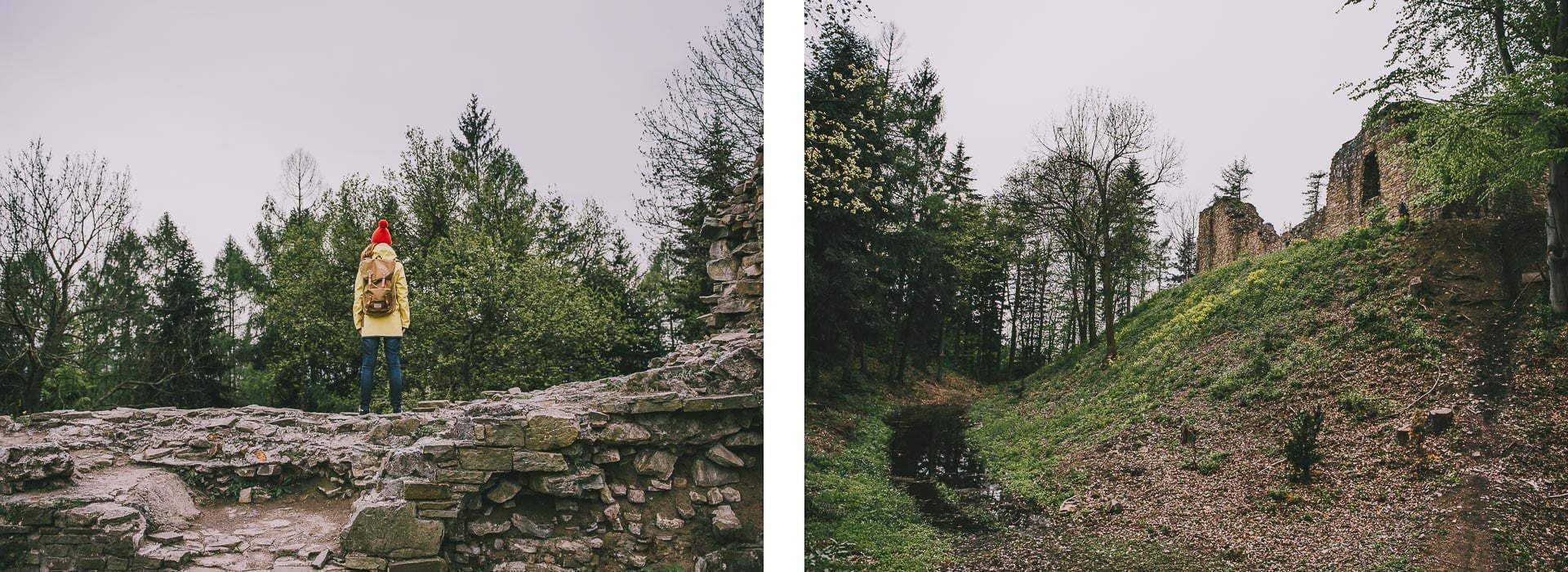 Zamek wLanckoronie