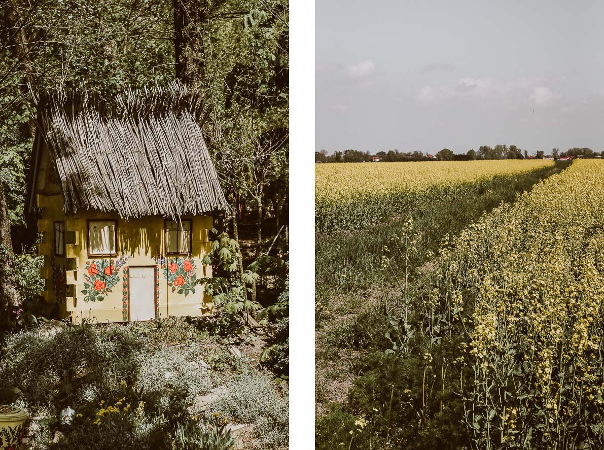 Zalipie – malowana wieś jak zobrazka.
