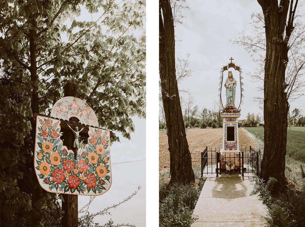 Zalipie – malowana wieś - kapliczki