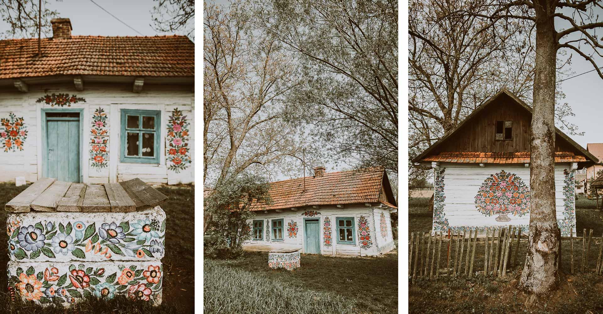 Zalipie - wieś jak zobrazka