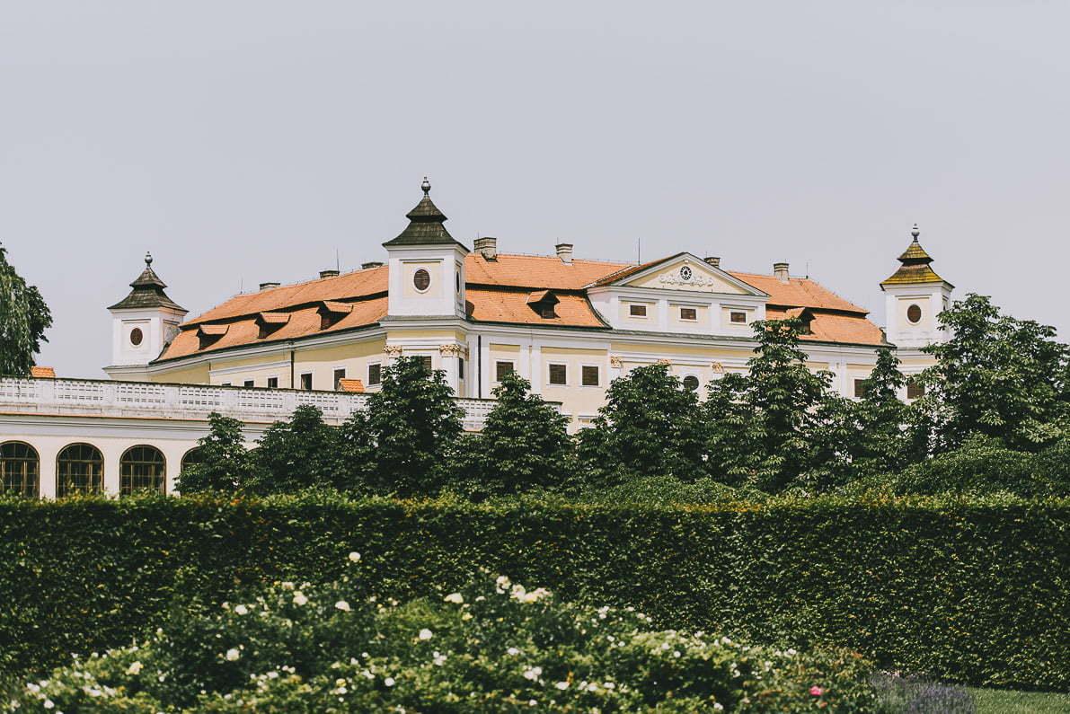 Morawy Południowe wCzechach - Pałac Milotice