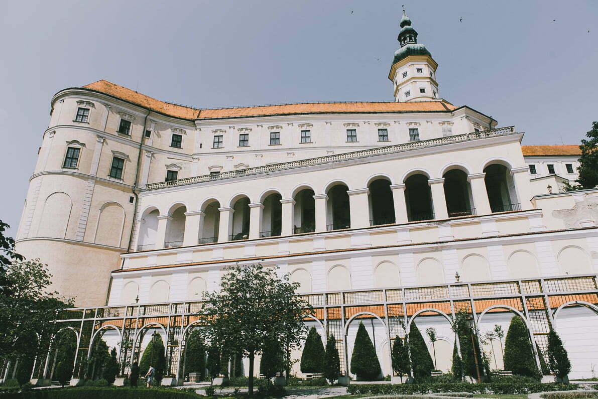 Morawy Południowe - Zamek WMikulovie