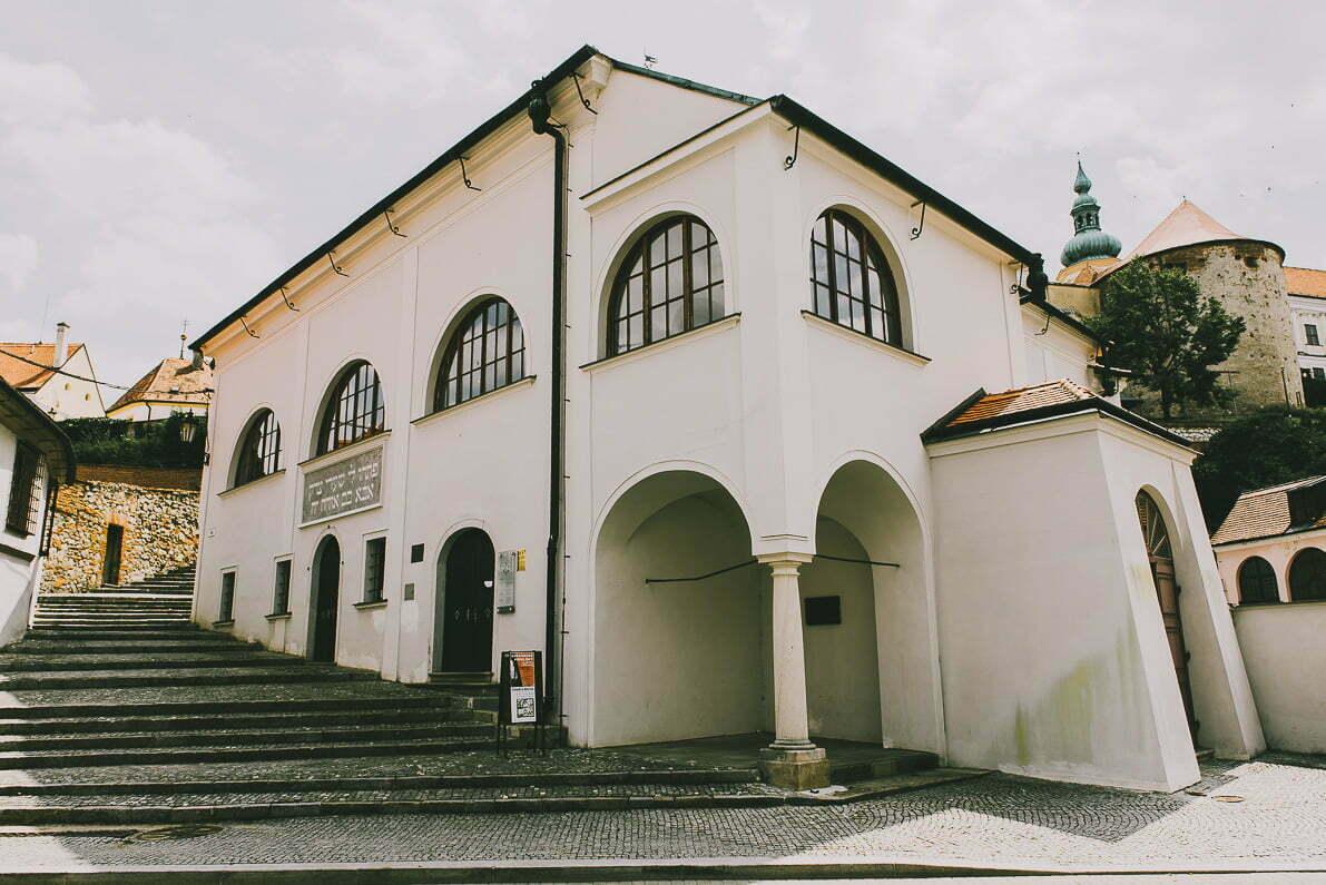 Morawy Południowe - Mikulov synagoga
