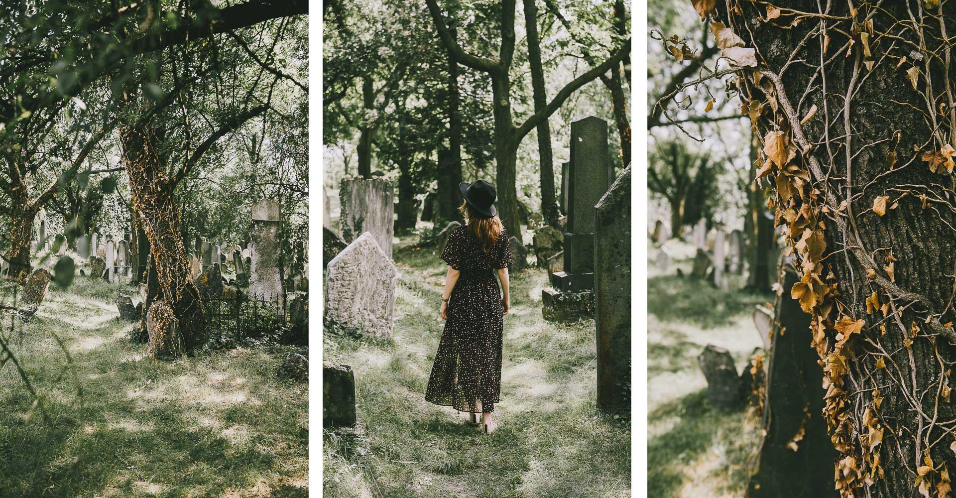 Morawy Południowe - Mikulow cmentarz żydowski