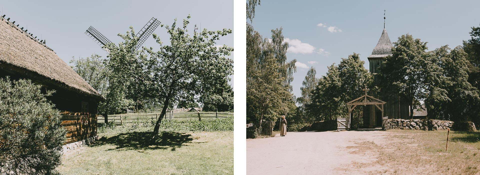 Kaszubski Park Etnograficzny weWdzydzach Kiszewskich - kościół